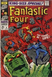 Fantastic Four (1961) -AN06- Let there be... life!