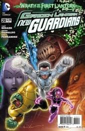 Green Lantern: New Guardians (DC Comics - 2011) -20- Reunion