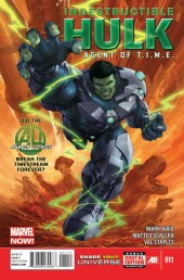 Indestructible Hulk (2013) -11- Agent of T.I.M.E. part 1