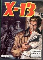 X-13 agent secret -Rec67- Collection reliée N°67 (du n°400 au n°403)