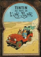 Tintin (Historique) -15B22- Tintin au pays de l'Or Noir