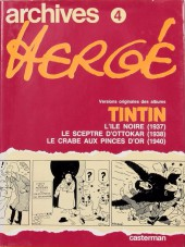 Archives Hergé - Tome 4