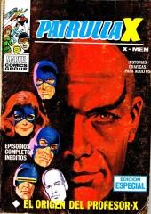 Patrulla-X Vol 1 (Vertice) -6- El origen del profesor X
