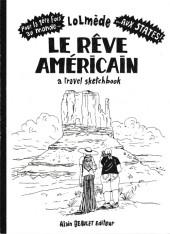(AUT) Lolmède - Le rêve américain a travel sketchbook