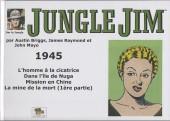 Jungle Jim (Jim la jungle) -1945- Strips hebdomadaires 1945