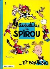 Spirou et Fantasio -1c1975- 4 aventures de spirou et fantasio