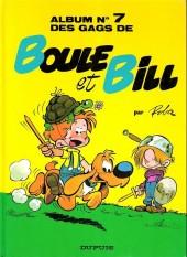 Boule et Bill -7e92- Album N° 7 des gags de Boule et Bill