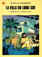 Tif et Tondu -8b1987- La villa du long-cri