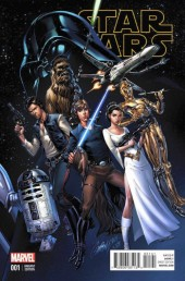 Star Wars (2015) -1VC- Book 1 Skywalker Strikes - Campbell cover