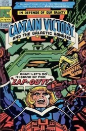 Captain Victory and the Galactic Rangers (1981) -8- Zap-out!!