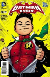 Batman and Robin (2011) -38- Superpower - Fly Robin Fly