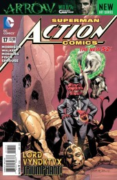 Action Comics (2011) -17- The fiend from Dimension 5