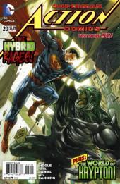 Action Comics (2011) -20- Hybrid - Part 2