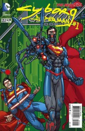 Action Comics (2011) -231- Cyborg - Born in flames