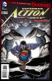 Action Comics (2011) -31- Doomed - Infected chapter 1