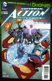 Action Comics (2011) -32- Doomed - Enemy of the state chapter 1