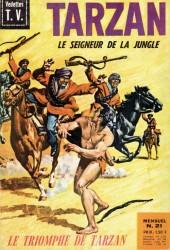 Tarzan (2e Série - Sagédition) (Vedettes T.V.) -21- Le triomphe de Tarzan