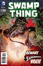Swamp Thing (2011) -20- This green hell