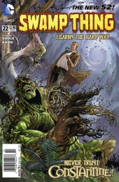 Swamp Thing (2011) -22- The whisky tree part 1