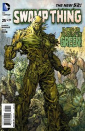 Swamp Thing (2011) -25- Two enter... One leaves !