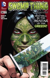 Swamp Thing (2011) -34- The wolf and the lady part 2
