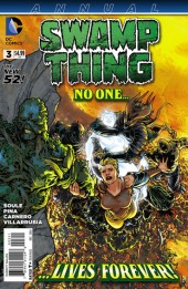 Swamp Thing (2011) -AN03- All stories end, my friend.