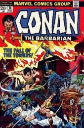 Conan the Barbarian Vol 1 (Marvel - 1970) -26- The hour of the griffin!