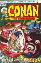 Conan the Barbarian Vol 1 (Marvel - 1970) -27- The Blood-Jewel of Bel-Hissar!