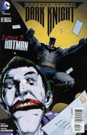 Batman: Legends of the Dark Knight (2012) -3- Letters to Batman
