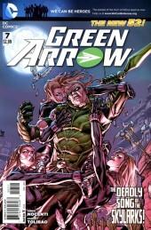 Green Arrow (2011) -7- Tripl3 Tr3at, Part 1