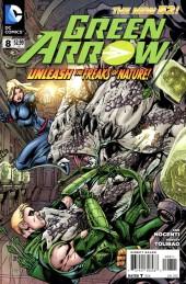 Green Arrow (2011) -8- Tripl3 Tr3at, Part 2