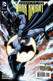 Batman: Legends of the Dark Knight (2012) -8- Carved / Unnatural Selection