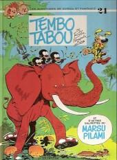 Spirou et Fantasio -24d93- Tembo Tabou