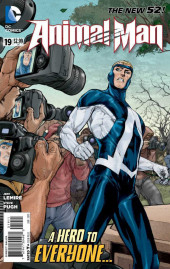 Animal Man (2011) -19- The funeral
