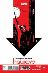 Hawkeye (2012) -6- Six days in the life of