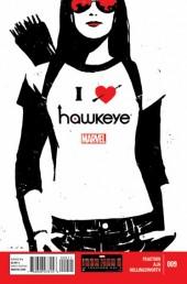 Hawkeye (2012) -9- Girls