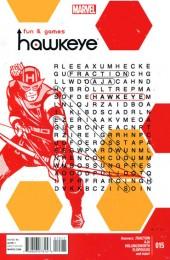 Hawkeye (2012) -15- Fun and Games