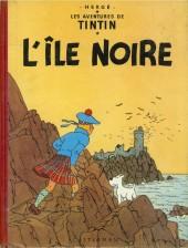 Tintin (Historique) -7B29- L'île noire