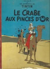 Tintin (Historique) -9B27- Le crabe aux pinces d'or