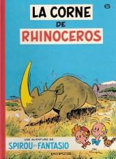 Spirou et Fantasio -6e89- La corne de rhinocéros
