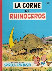 Spirou et Fantasio -6c1989- La corne de rhinocéros