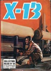 X-13 agent secret -Rec58- Collection reliée N°58 (du n°364 au n°367)