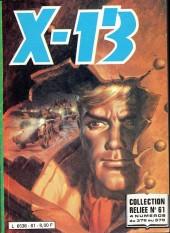 X-13 agent secret -Rec61- Collection reliée N°61 (du n°376 au n°379)