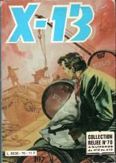 X-13 agent secret -Rec70- Collection reliée N°70 (du n°412 au n°415)