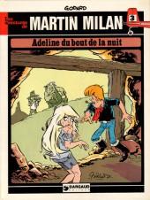 Martin Milan (2e Série) -3- Adeline du bout de la nuit