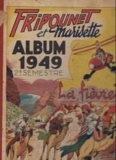 (Recueil) Fripounet et Marisette -492- Album 1949 2e semestre (recueil des n°27 à 52)