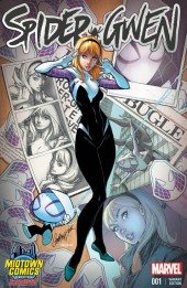 Spider-Gwen (2015) [I] -1VC- Issue 1 (Midtown Comics Exclusive)