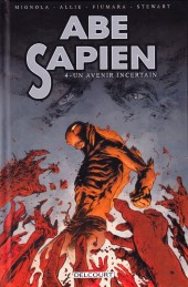 Couverture de Abe Sapien -4- Un avenir incertain