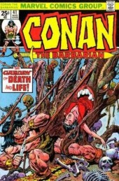 Conan the Barbarian Vol 1 (Marvel - 1970) -41- The garden of death and life!