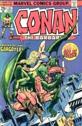 Conan the Barbarian Vol 1 (Marvel - 1970) -42- Night of the gargoyle!